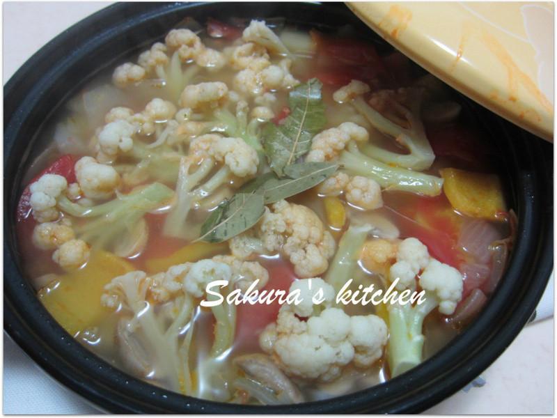 ♥我的手作料理♥ 健康滿點蔬菜湯