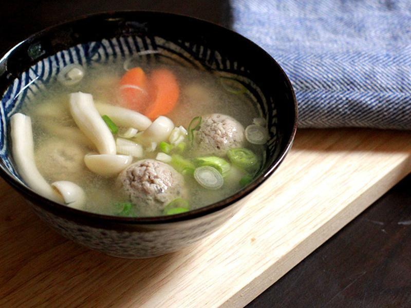 豐年農場・鯖魚丸菇湯