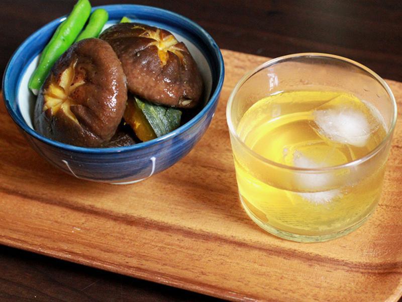 豐年農場・南瓜茄子香菇煮物