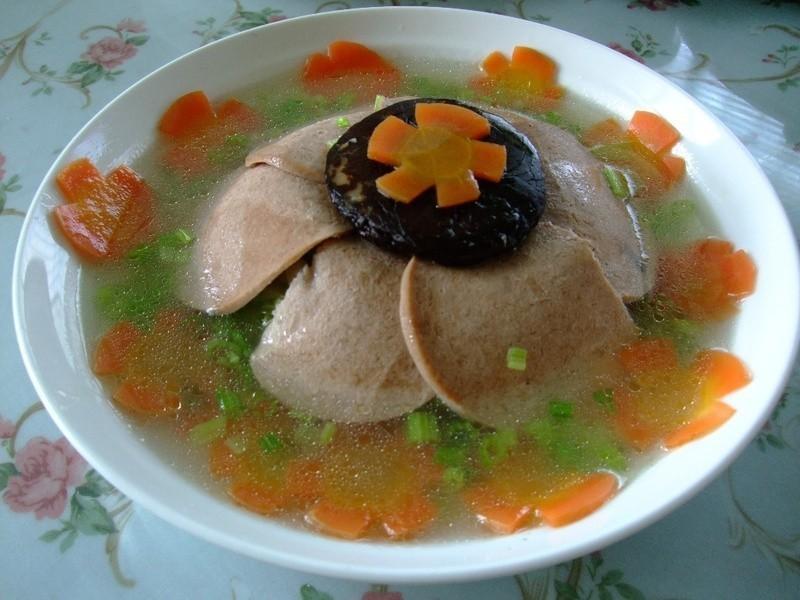 百花齊放~(素)火腿扣美生菜