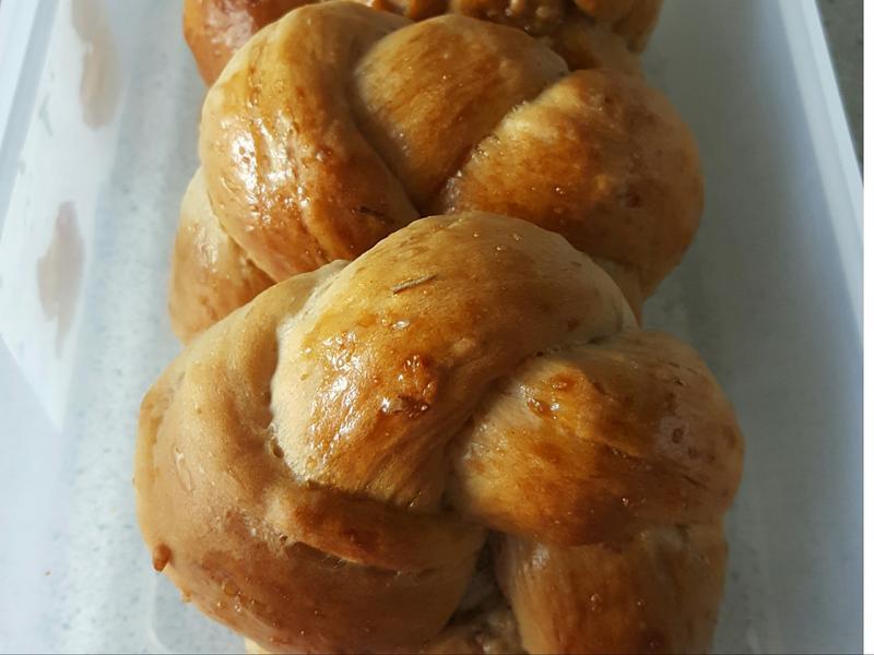 香草核桃麵包