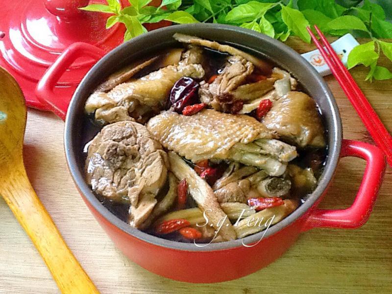 加味四物雞湯