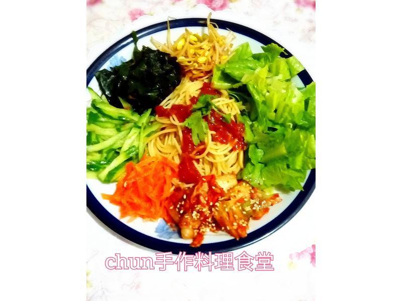 韓式蕃茄義式涼麵(百味來私房美味)