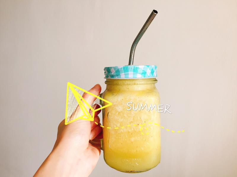 消暑多纖鳳梨奇異果汁