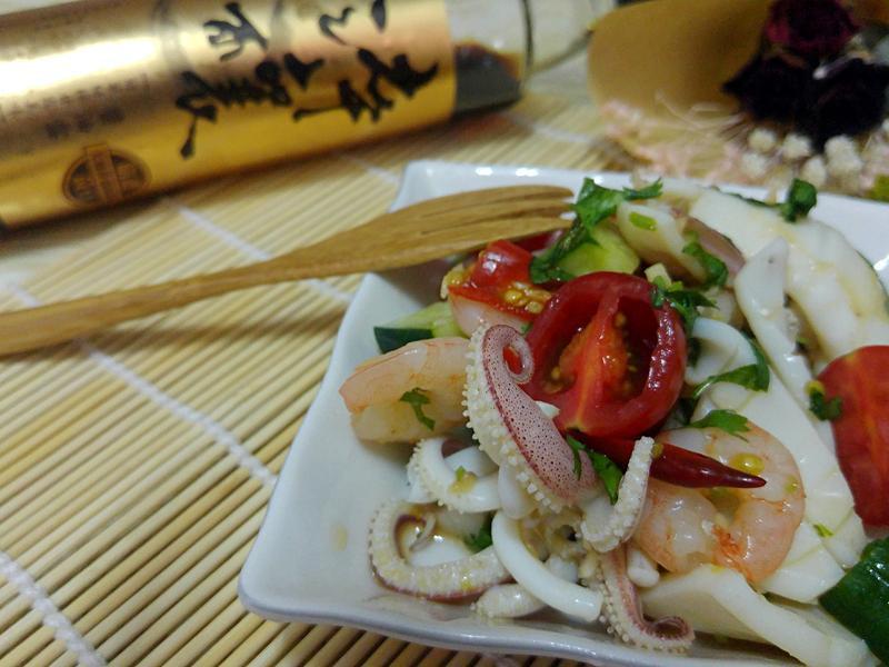 泰式涼拌海鮮【淬釀全菜單挑戰賽】