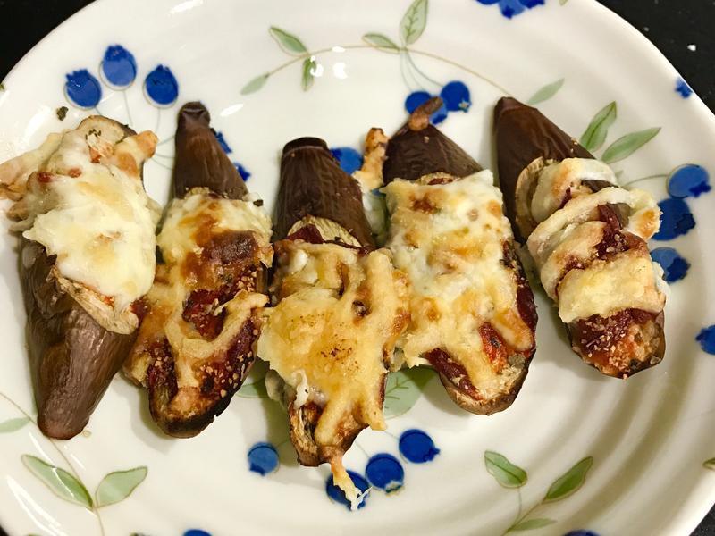 小烤箱香料焗烤茄子