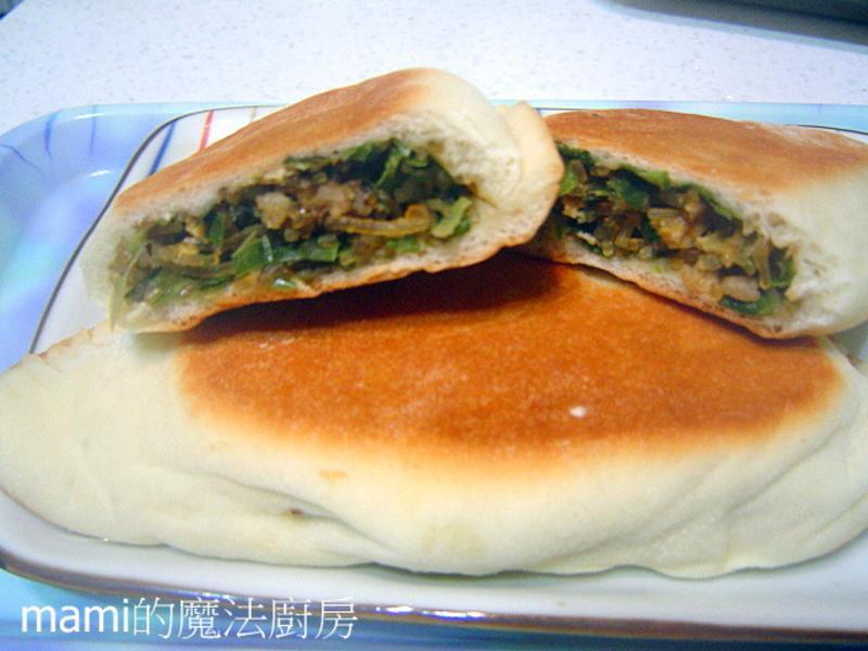 麵包韭菜盒 (統一麥典實作麵粉)