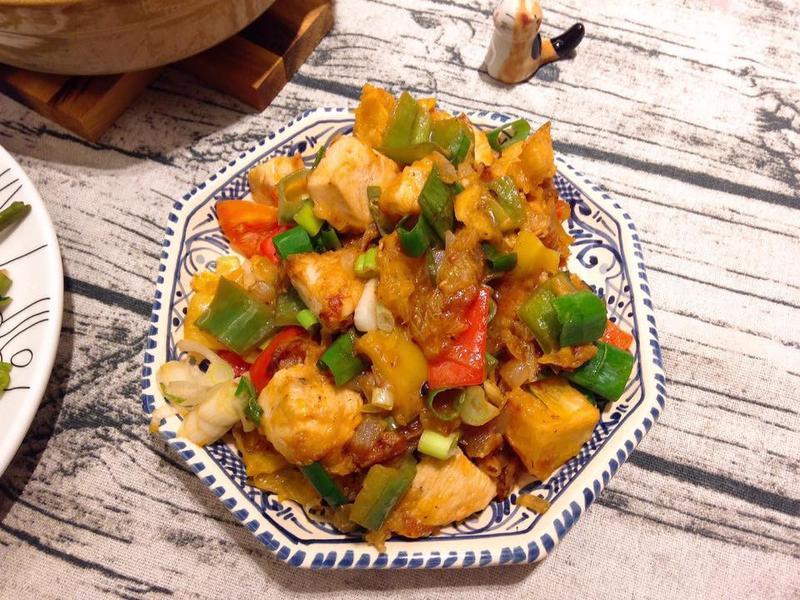 中式家常橙汁雞塊