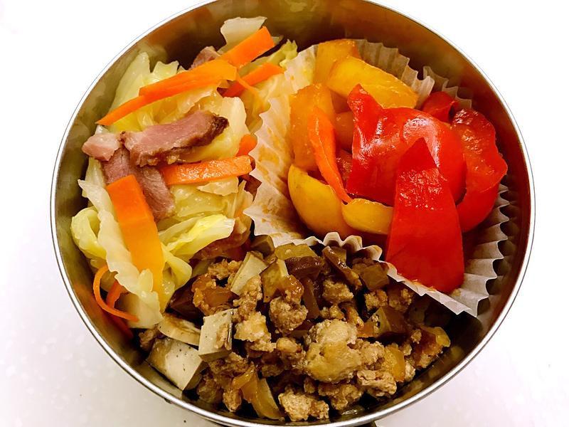 お弁当-170512-豆乾肉燥