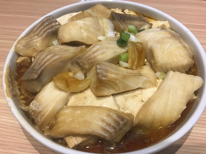 豆腐蒸魚片