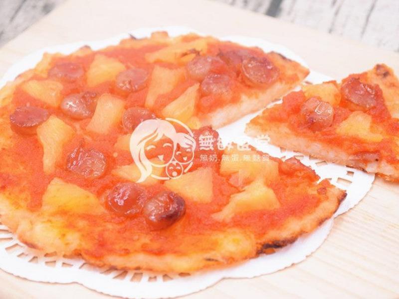 米夏威夷Pizza(無奶無蛋無麵粉