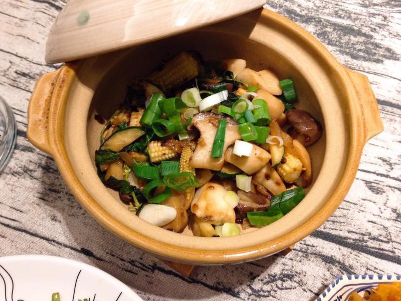 中式家常花椒爆炒杏鮑菇