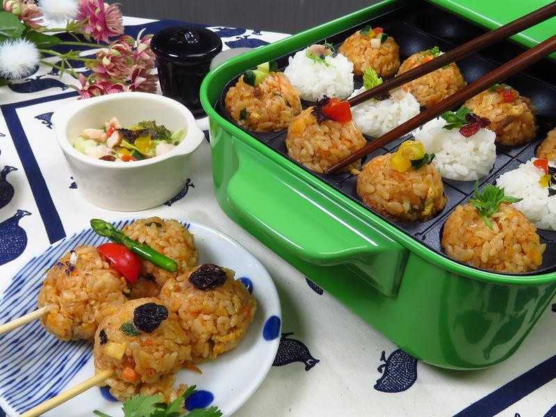 日式烤飯糰
