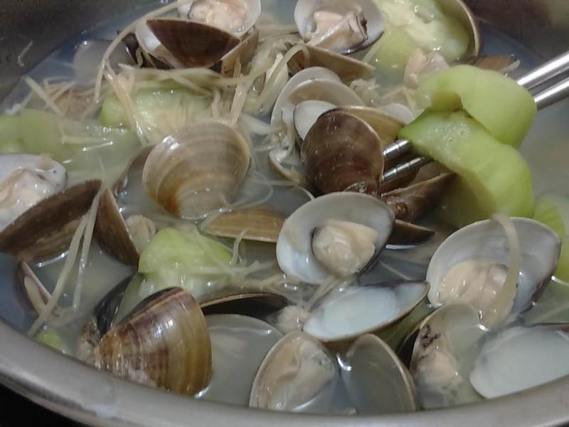 【一鍋到底】蛤蜊絲瓜