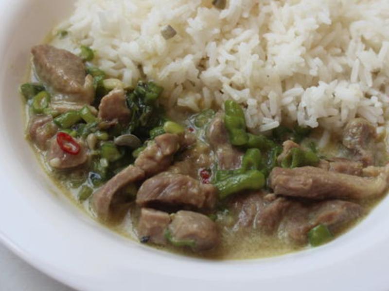 泰式綠咖哩豬肉