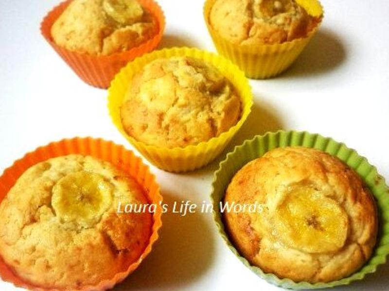 超簡易完熟香蕉馬芬Muffins
