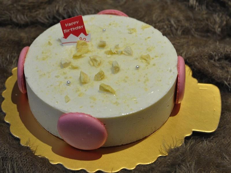 榴蓮芝士蛋糕