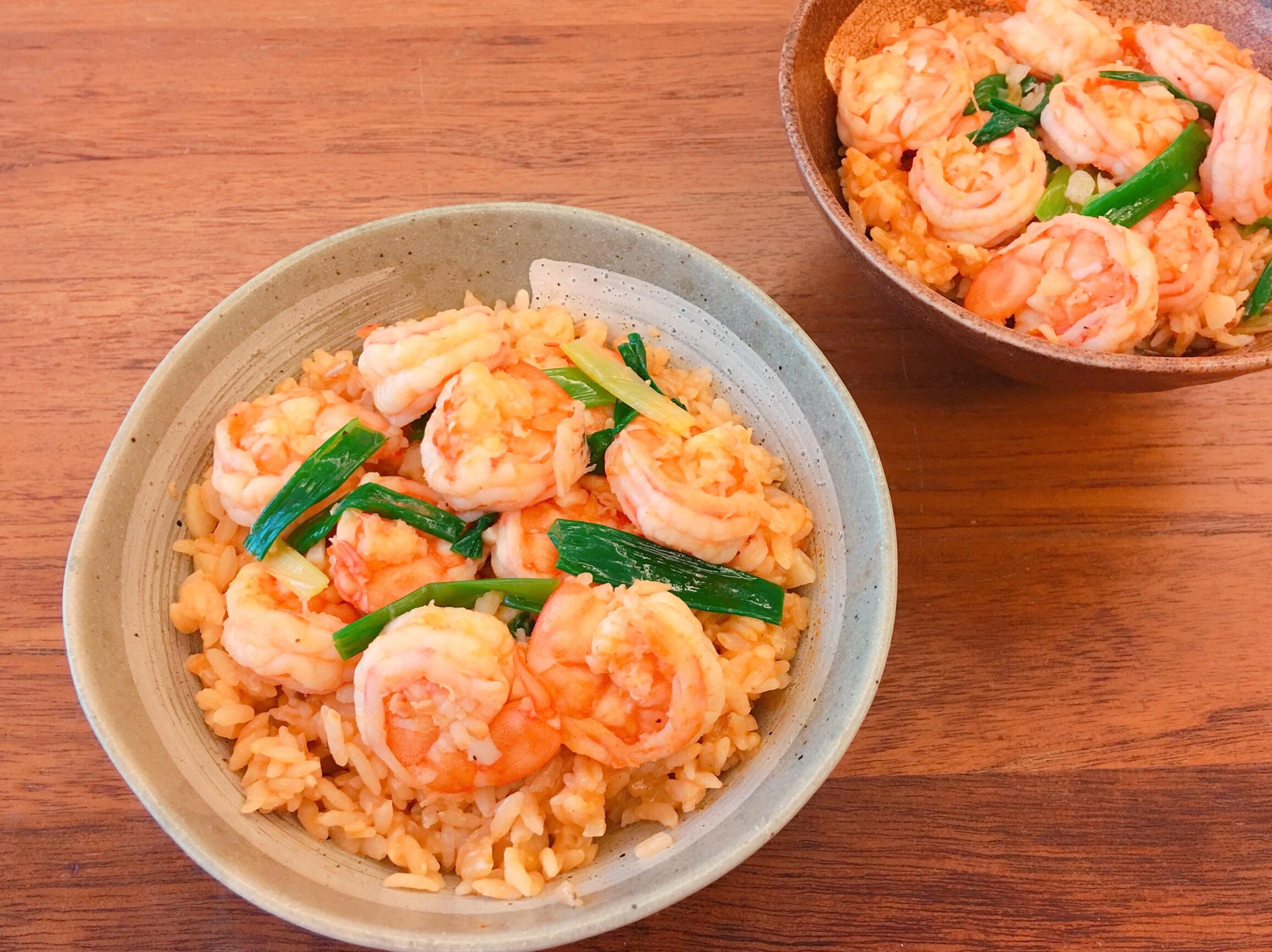 台南經典小吃蝦仁飯