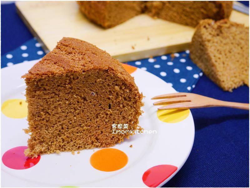 美味黑糖蛋糕