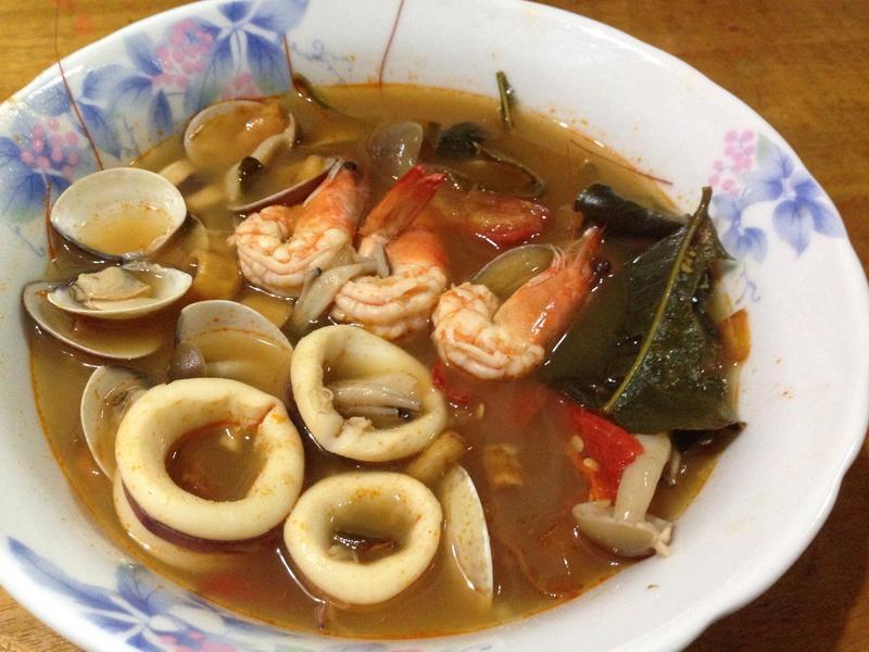 泰式酸辣海鮮湯