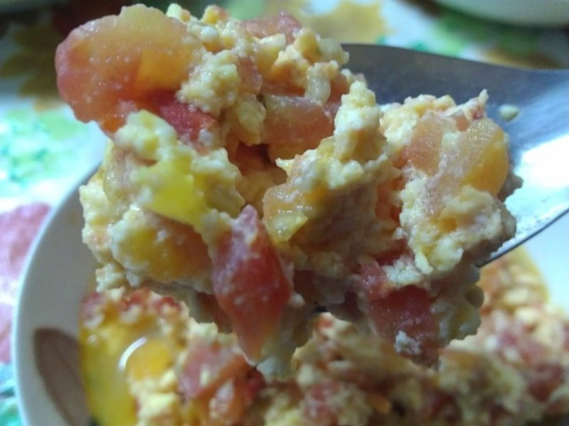 ㄚ曼達的廚房~蕃茄炒蛋