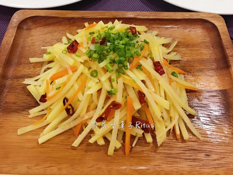 涼拌椒麻馬玲薯絲