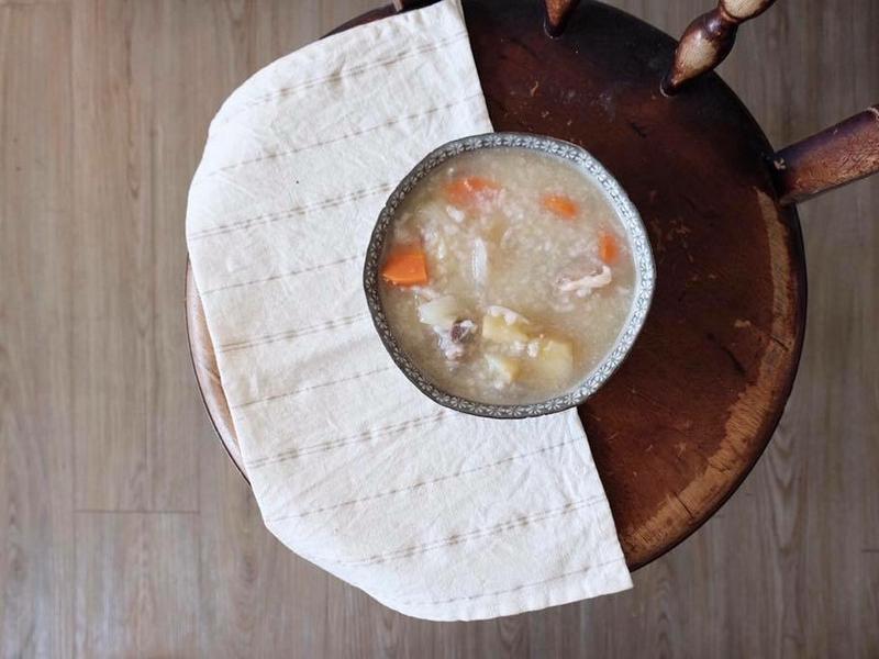 紅蘿蔔排骨粥