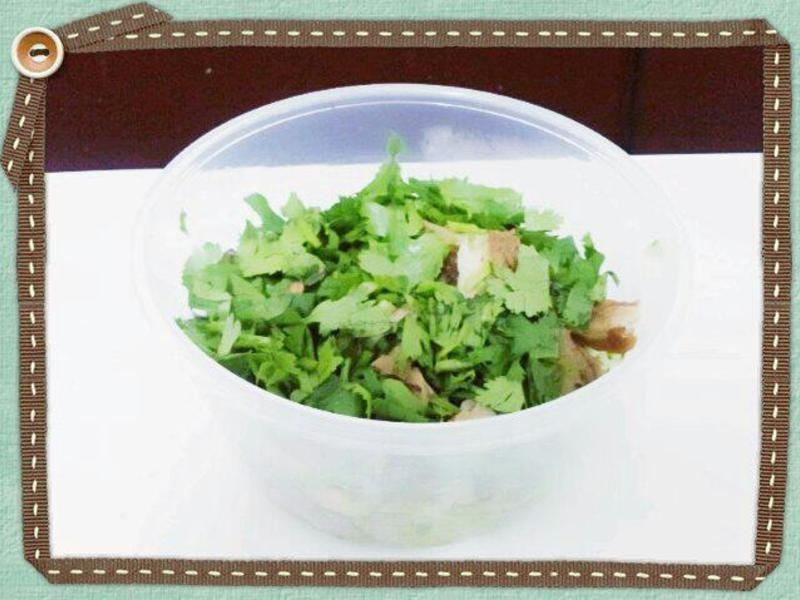 芝麻醬拌黃瓜雞絲
