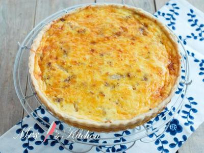 法式培根洋蔥鹹派 Quiche