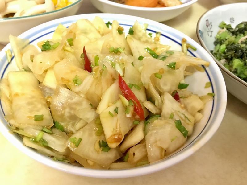 涼拌小菜(大頭菜)