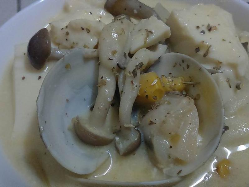 【一鍋到底】三菇海味濃湯