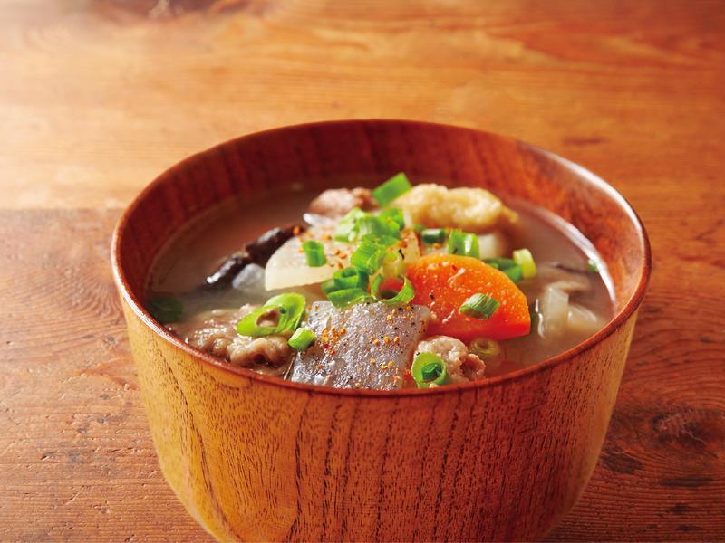 東販小食堂:豬肉味噌湯
