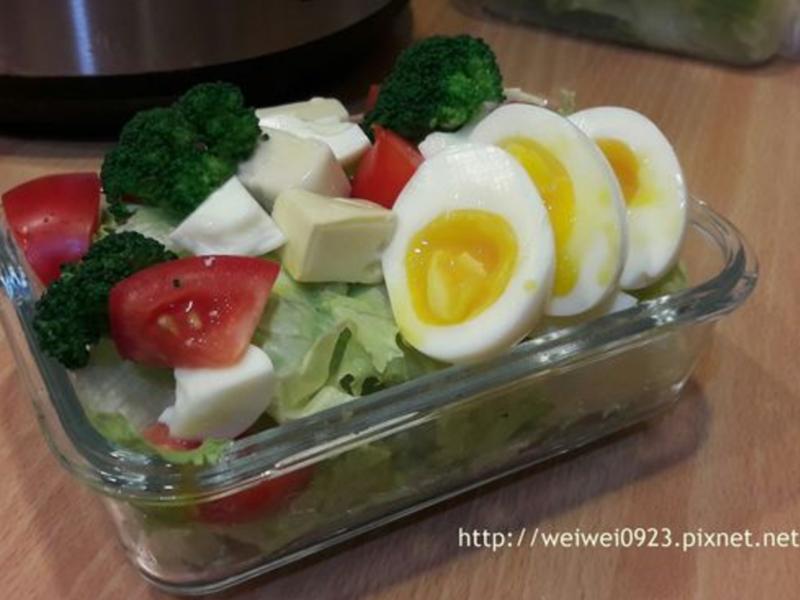 夏日低卡輕食沙拉餐
