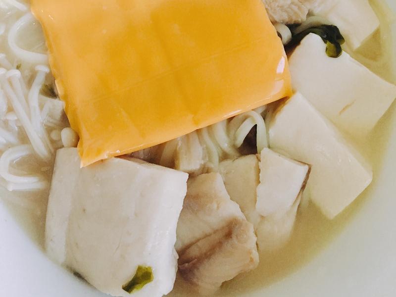 日式 海鮮 味噌起司 麵