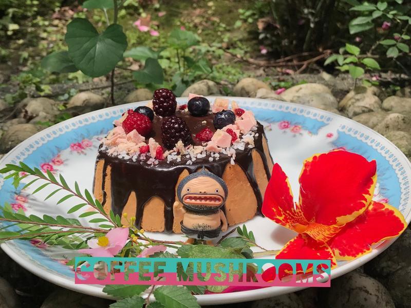 巧克力野莓香緹蛋糕