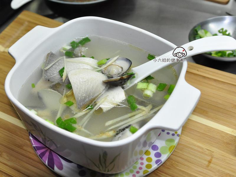 蛤蜊虱目魚肚湯