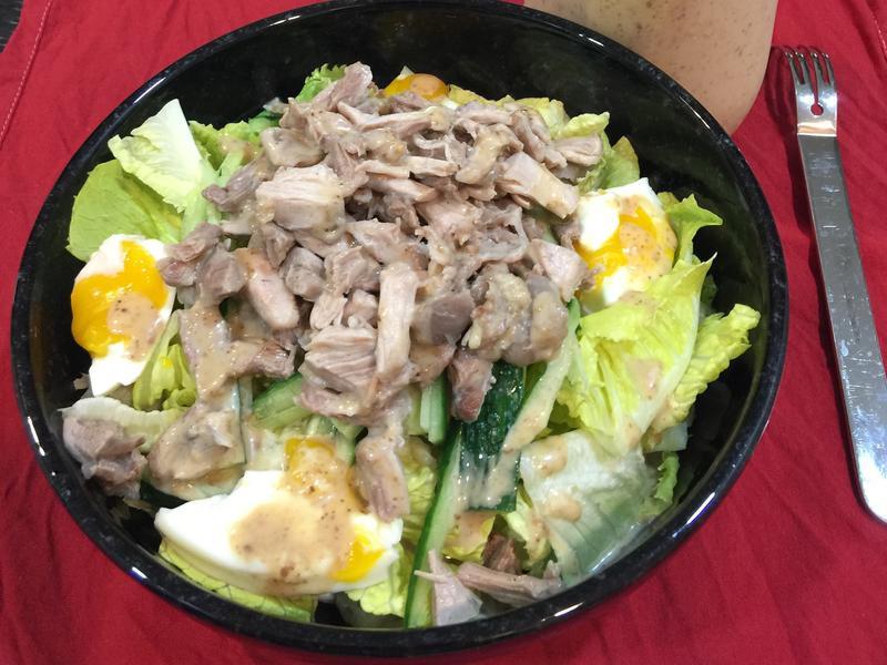 日式胡麻雞肉沙拉