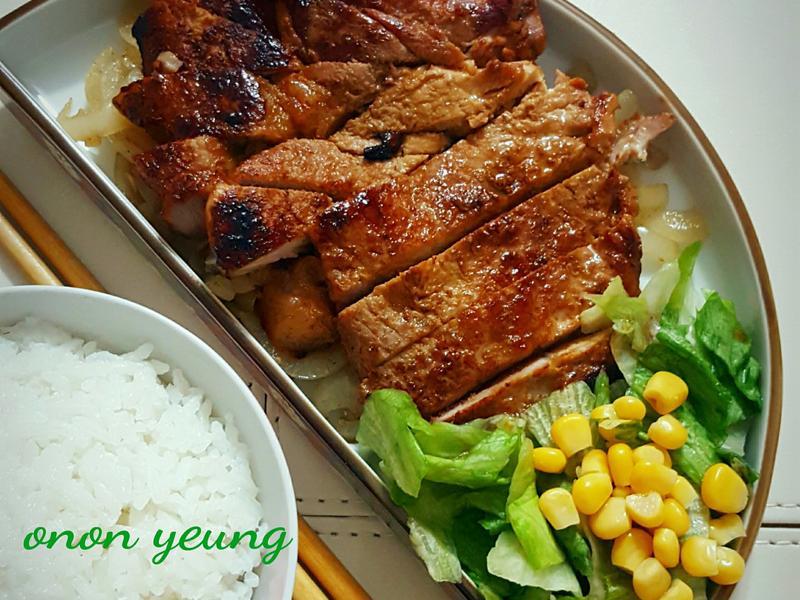 日式照燒豬排