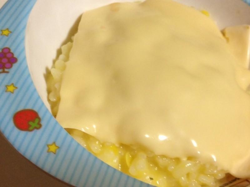 玉米濃湯起司燉飯