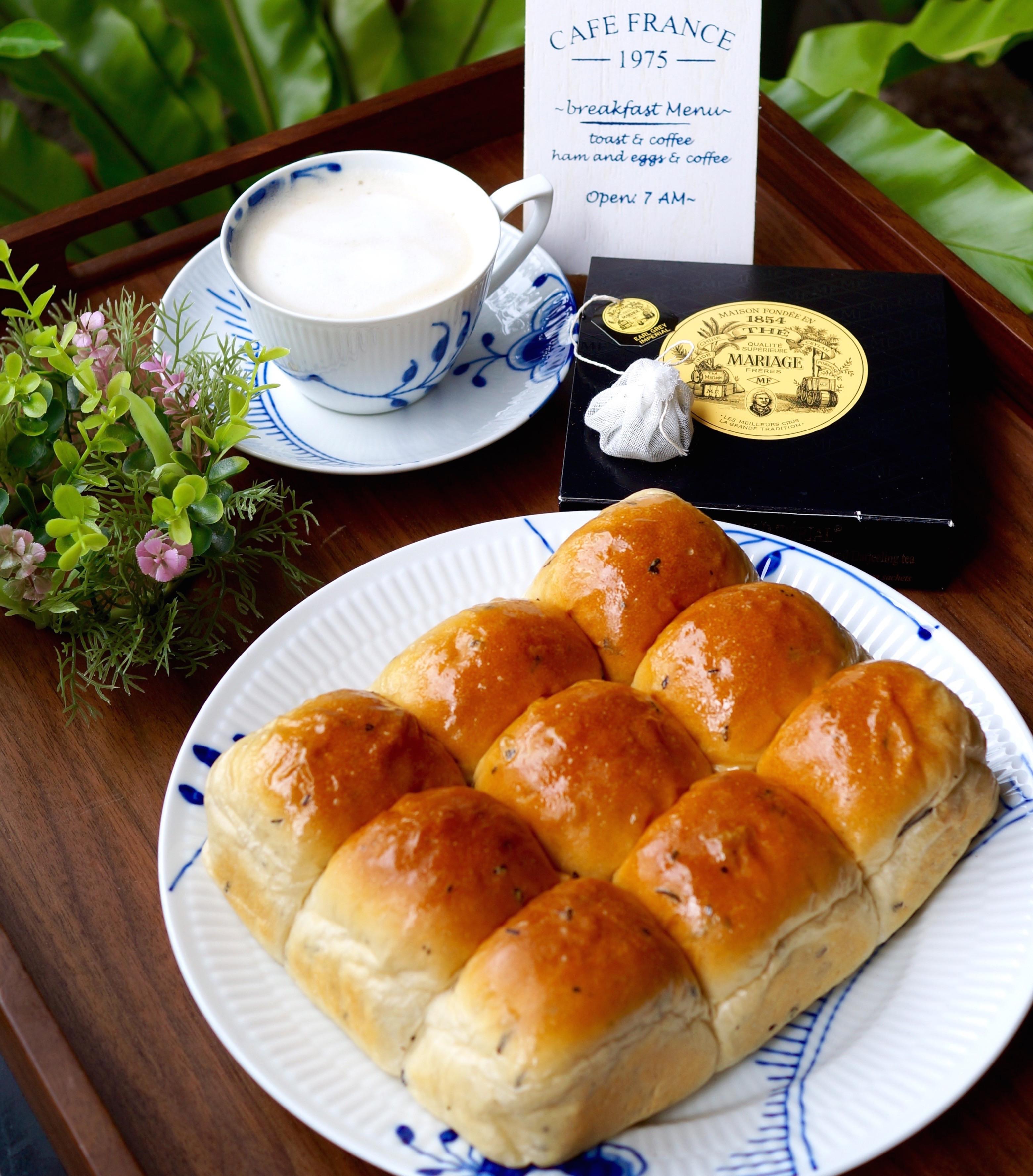 奶茶控的最愛~伯爵奶茶餐包