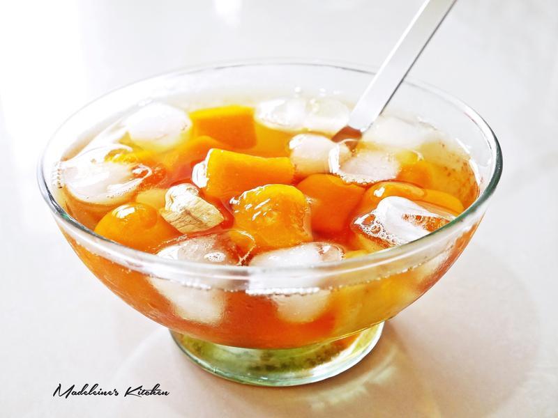 冰~焦糖薑汁南瓜圓