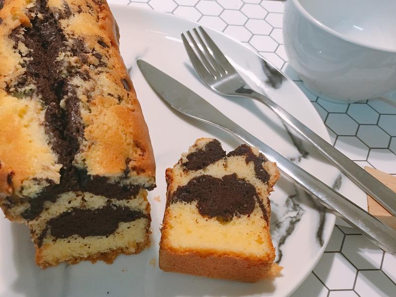 雙色磅蛋糕