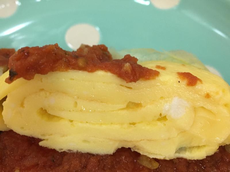 低卡蛋寬條麵