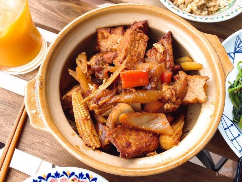 味噌燒油豆腐