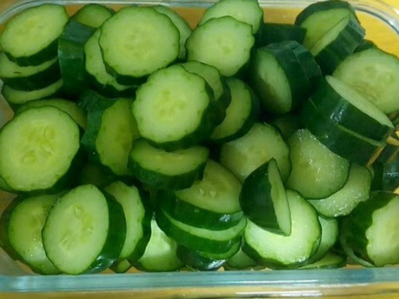 夏天首選料理--涼拌小黃瓜