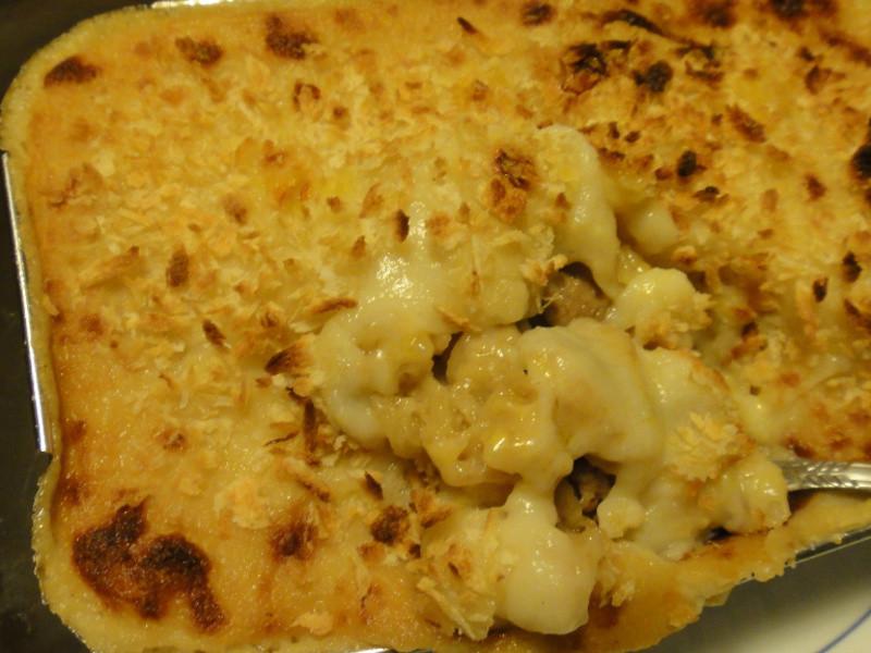 奶油烤通心粉 Macaroni au gratin