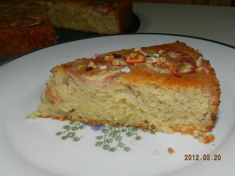 ㄚ曼達的廚房~蜂蜜香蕉蛋糕