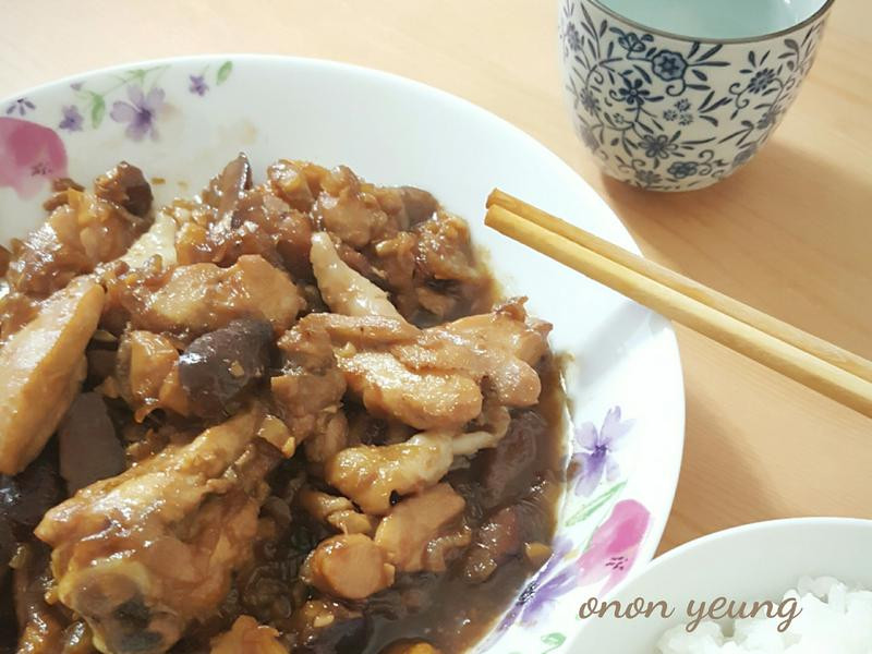 香菇燜雞肉