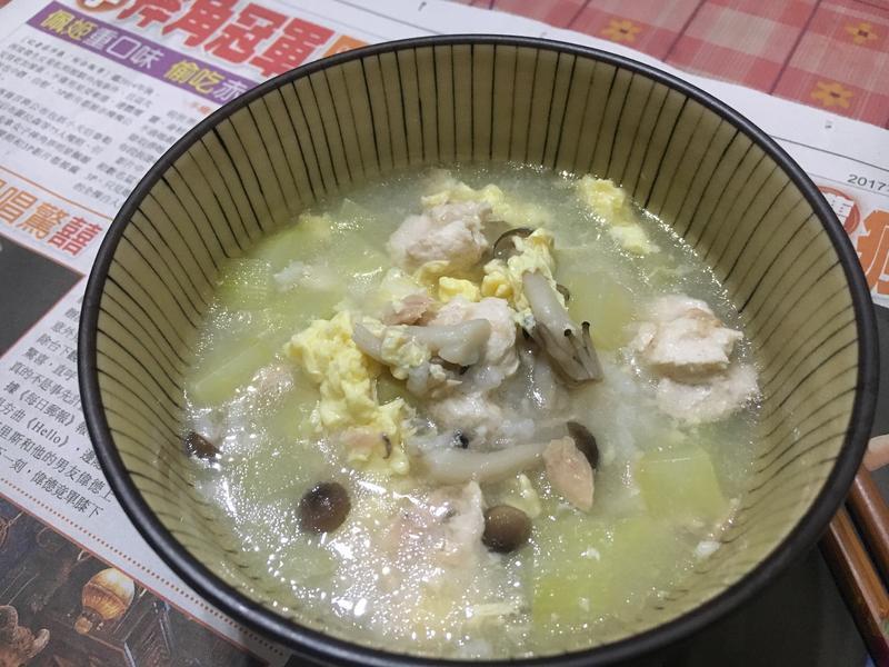零失敗-黃瓜雞肉粥
