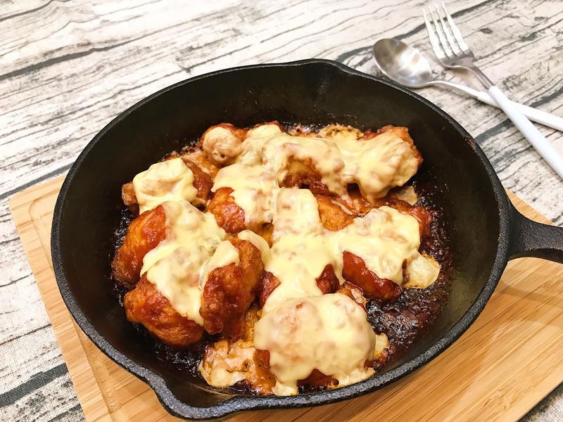 韓式辣味起士炸雞